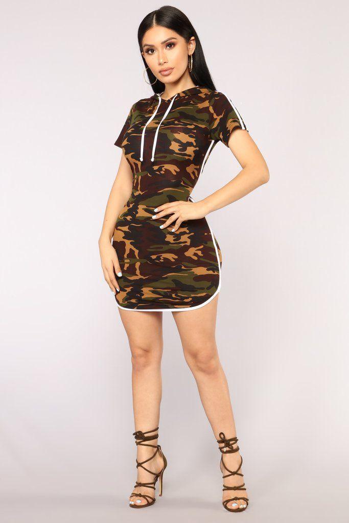 14990dc0e27 All Eyes On You Camo Dress - Camo in 2019