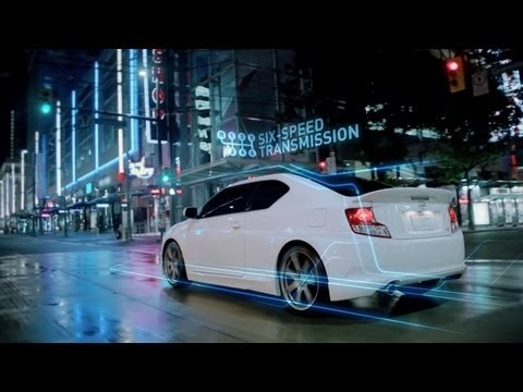 With its 180 horsepower, and its 6-speed transmission, the 2012 Scion tC is made to own the streets!