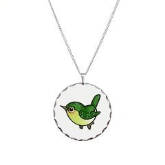 Cute Emerald Green Bird Necklace $17.99 #cute #bird #jewelry #necklace