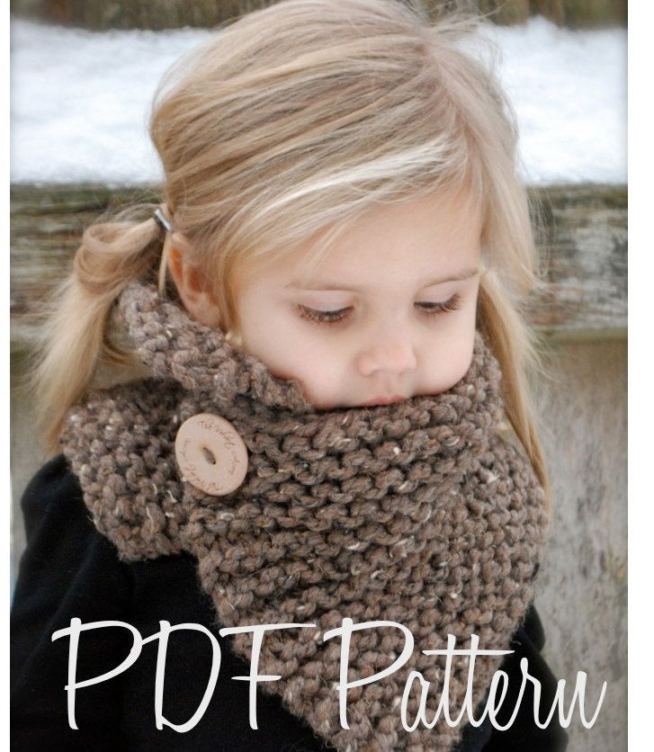 Knitting PATTERN-The Boston Cowl (Child, Adult sizes) also can be Made to Order. $5,50, via Etsy.