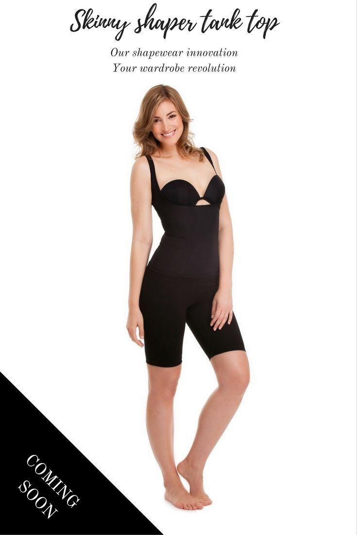 The Skinny Shaper Tank - your #shapewear revolution coming soon! #SvelteShapewear