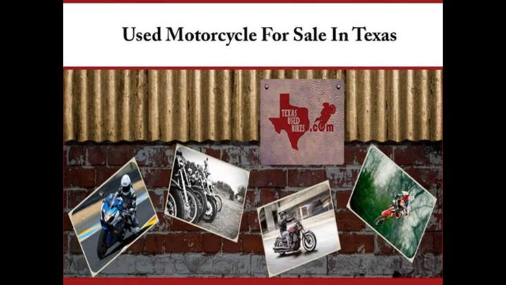 For excellent quality used motorcycles in Texas, consider Texas Used Bikes. The dealer offers a wide range of used motorcycles, dirt bikes and ATVs for sale. It stocks used motorcycles from leading brand names like Honda, Suzuki, Yamaha, Ducati, Kawasaki etc. The dealer also provides financing options for all used motorcycles. For more information, visit : http://www.texasusedbikes.com