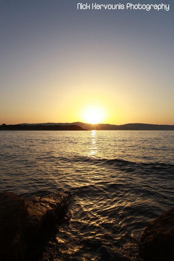 Skiathos Sunset Series by Nick Karvounis, via Behance