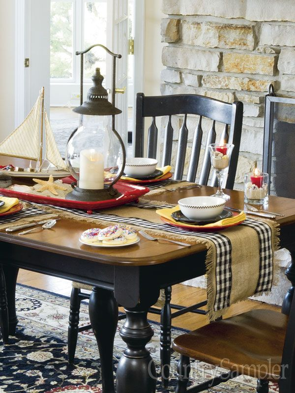Relax And Enjoy Country Decorating Ideas And Inspiration In Country Sampler  Magazine.