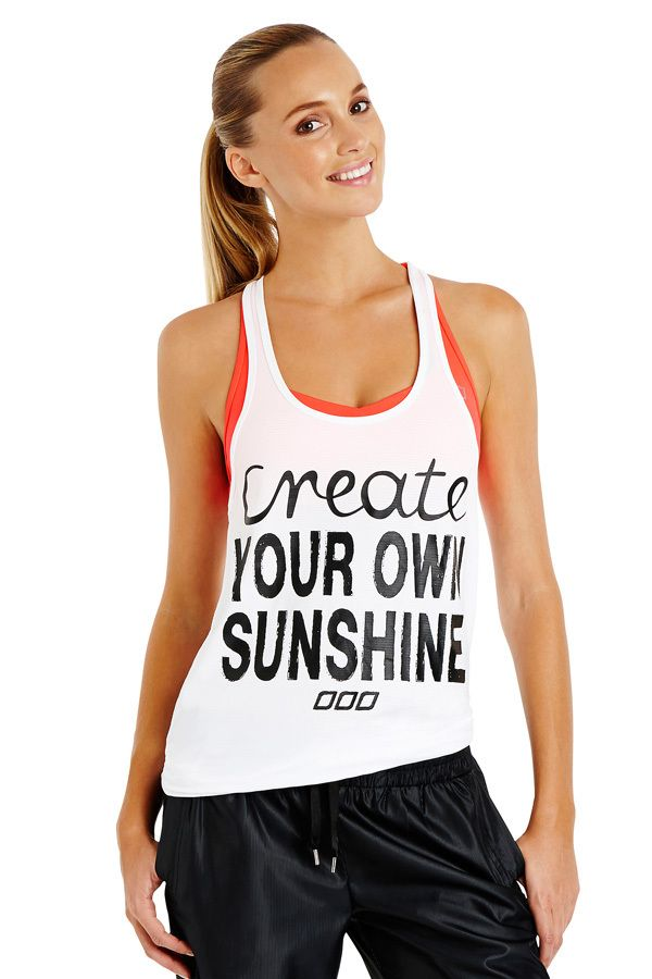Sunshine Excel Tank | Just Landed | New In | Shop | Categories | Lorna Jane US Site
