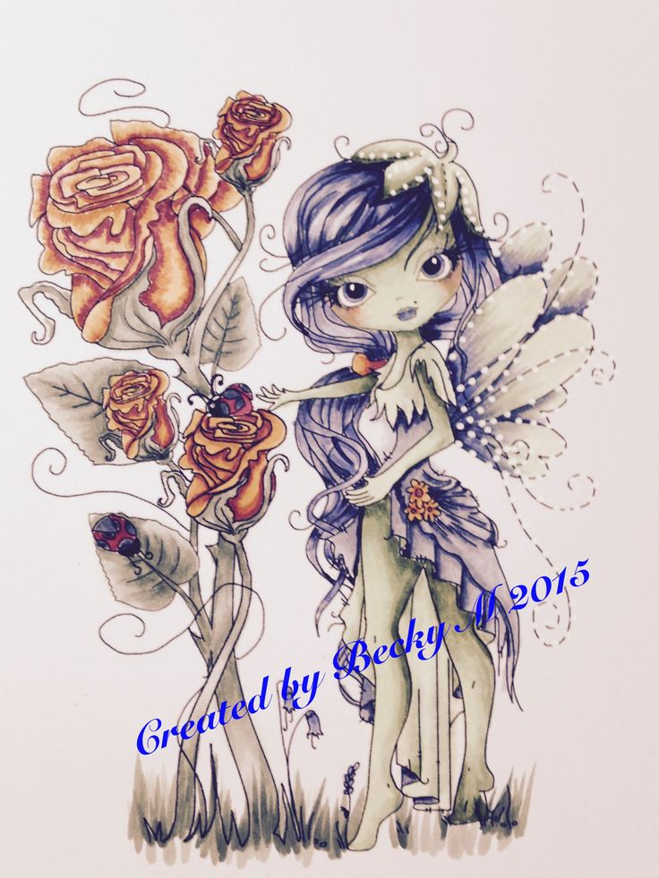 Polka Doodles new Octavia Rose image. Now for a perfect layout.