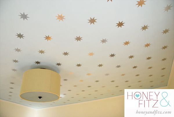 DIY Starry Ceiling Tutorial