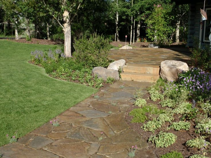 A natural stone walkway can be just the thing to spruce up your home's landscaping. Our experienced crew installs with precision and care, always making sure to leave your property more beautiful once finished. We have years of experience in creating outdoor living spaces throughout Jackson, Wyoming and eastern Idaho. Whether you are looking for meandering walkway …