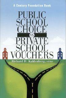Sassy Peach, Book Blogger: Public School Choice vs. Private School Vouchers