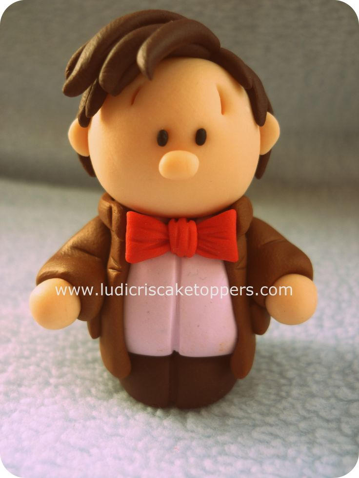 """Ickle Ludicris Cake Toppers by Ludicris   """"Matt Smith"""" the 11th Dr Who"""