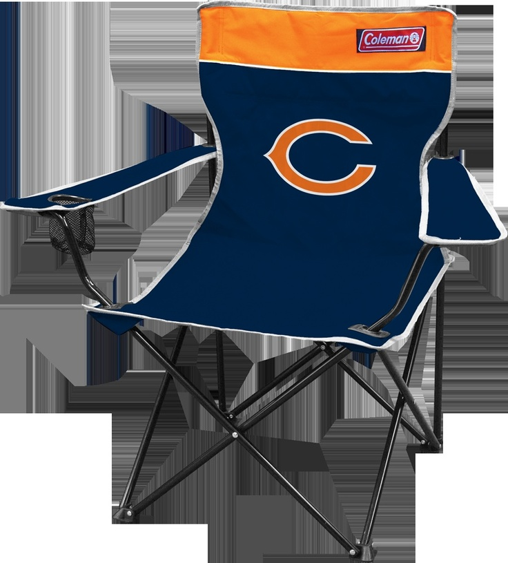 Chicago Bears Folding Tailgate Chair By Coleman