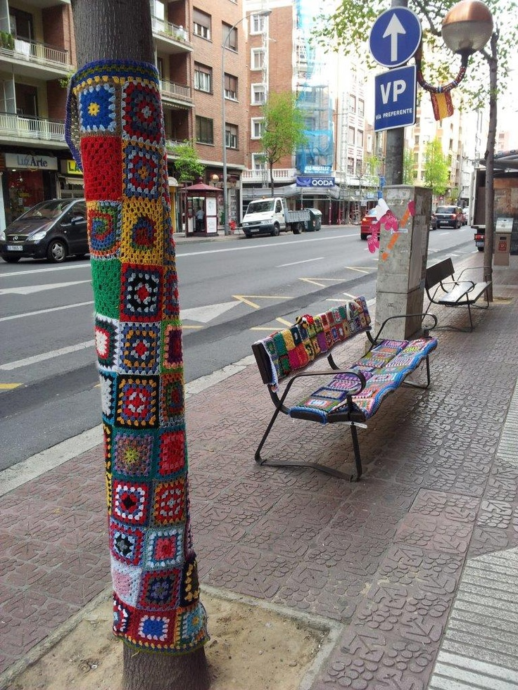 Knitting Trees Art : Images about crochet trees on pinterest downtown