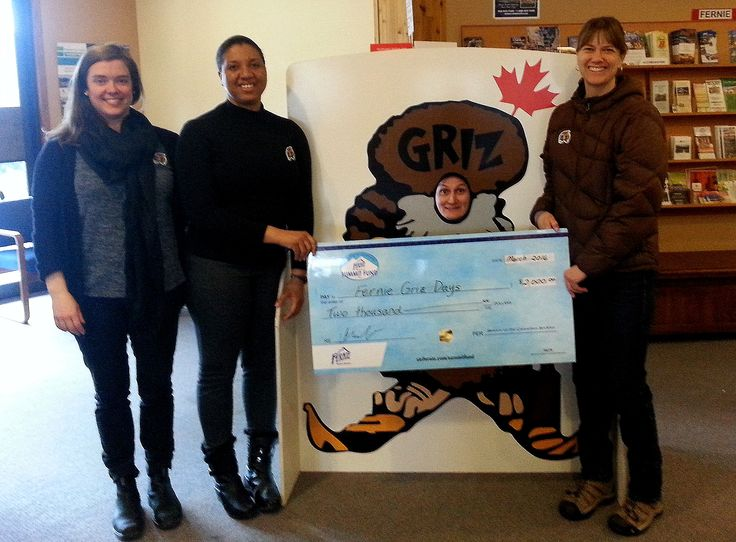 The Fernie Alpine Resort Summit Fund is proud to support the 2016 Griz Days Winter Festival with a $2000 donation.