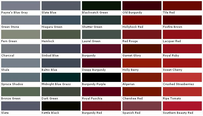 Exterior Paint Colors From Lowes