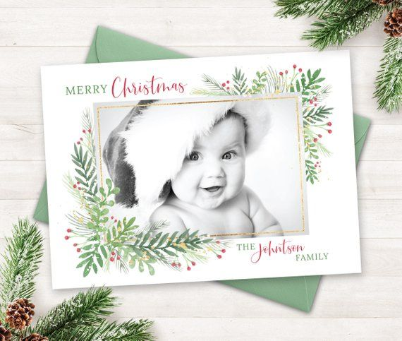 Printable Christmas Cards 2021 Photo Holiday Card With Photo Christmas Cards Printable Etsy In 2021 Christmas Photo Cards Printable Christmas Cards Holiday Photo Cards