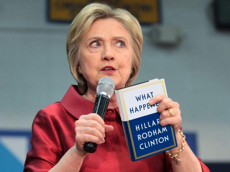 """""""What Happened"""", los sentimientos de Clinton tras la victoria de Trump"""
