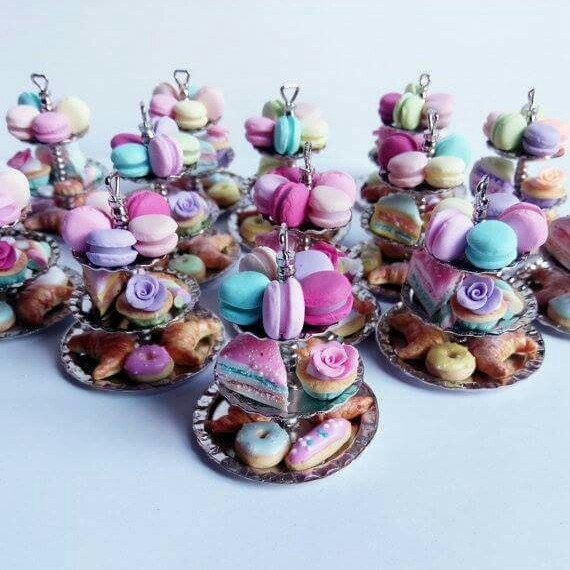 💟 Lovely cake stand necklaces 💟