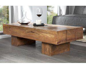 Drewniana ława do salonu 120x45x30 cm - i19509