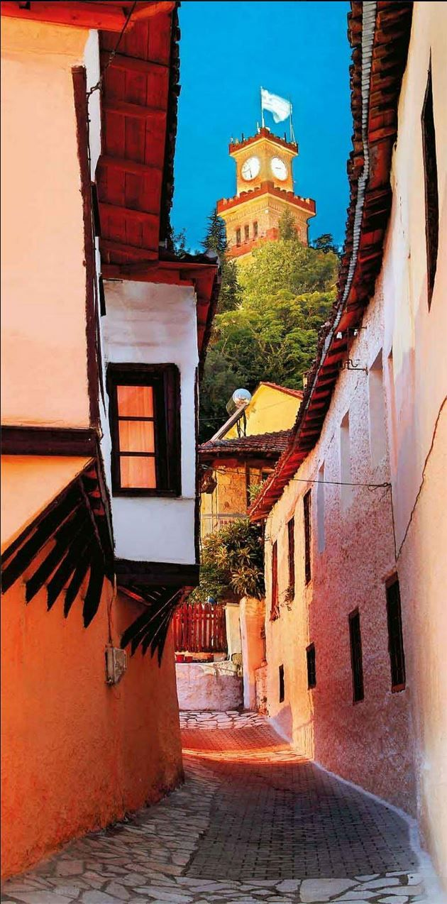 Old city of Varousi, Trikala, Greece