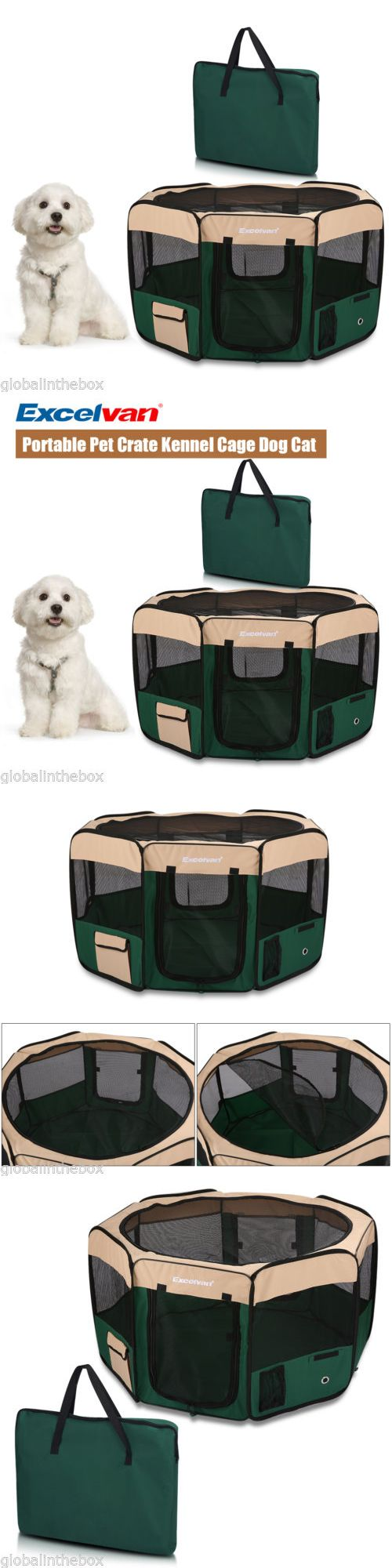 Protective Gear 36260: Pet Puppy Cage Dog Cat Playpen Soft Fabric Enclosure Fence Tent House M Foldable -> BUY IT NOW ONLY: $34.99 on eBay!