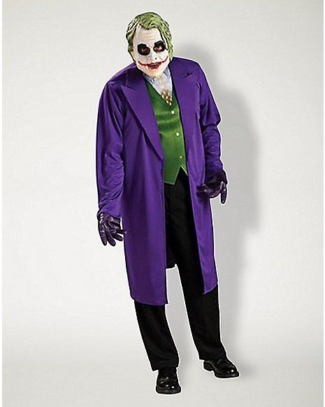 Adult Joker Plus Size Costume - Batman - Spencer's
