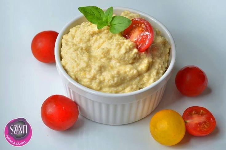 Éhezésmentes karcsúság Szafival - Humusz (vegán recept)