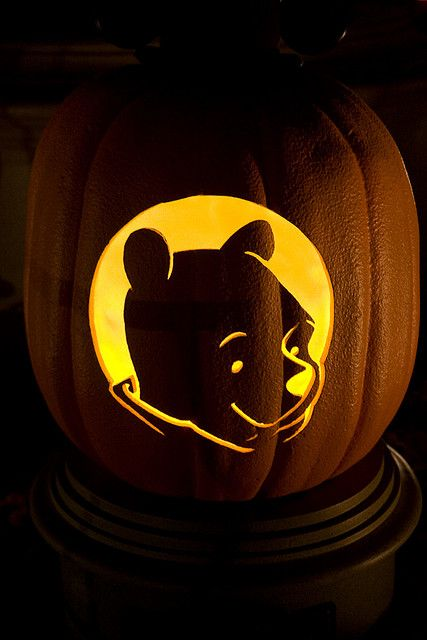 Best 25 disney pumpkin carving patterns ideas on for Winnie the pooh pumpkin carving templates