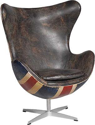 Hirshorn Chair Fudge Union Jack: Desks Chairs, Fudge Union, Contemporary Chairs, Unionjack Arne, Chairs Fudge, Hirshorn Chairs, Jack O'Connel, Chairs Design, Union Jack