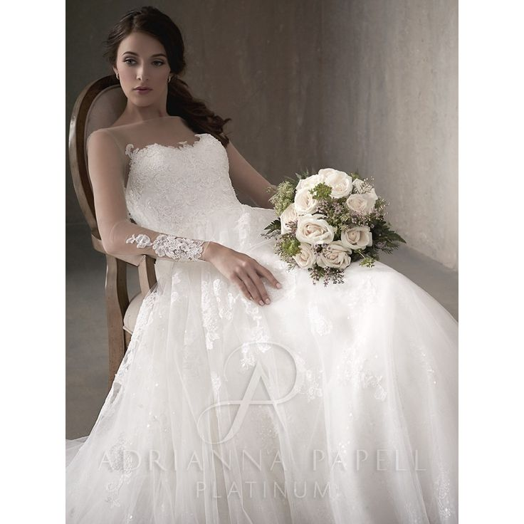 Platinum Wedding Gown: 79 Best Adrianna Papell Platinum Bridal Gowns Images On