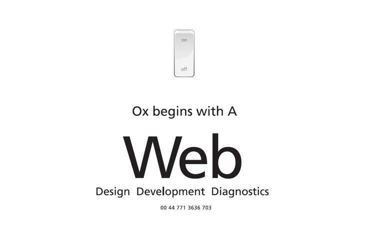 Io Web - Design Development Diagnostics - Understanding the problem is only half the battle.