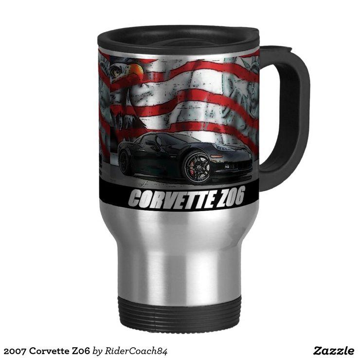 2007 Corvette Z06 Travel Mug