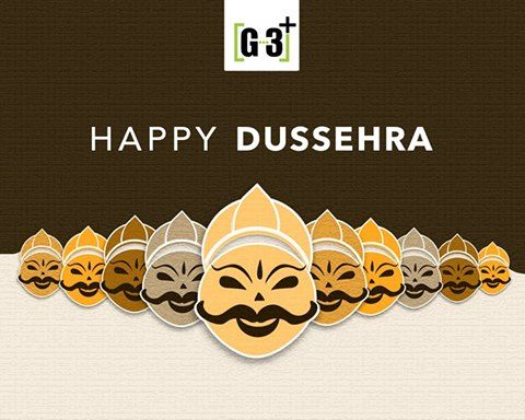 Dussehra. - A time for celebration, a time for victory of good over bad, a time when the world sees the example of the power of good. Let us continue the same 'real' spirit. Happy Dussehra.