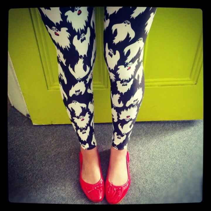 Get your ghost on! #Uptights leggings #whatIwore