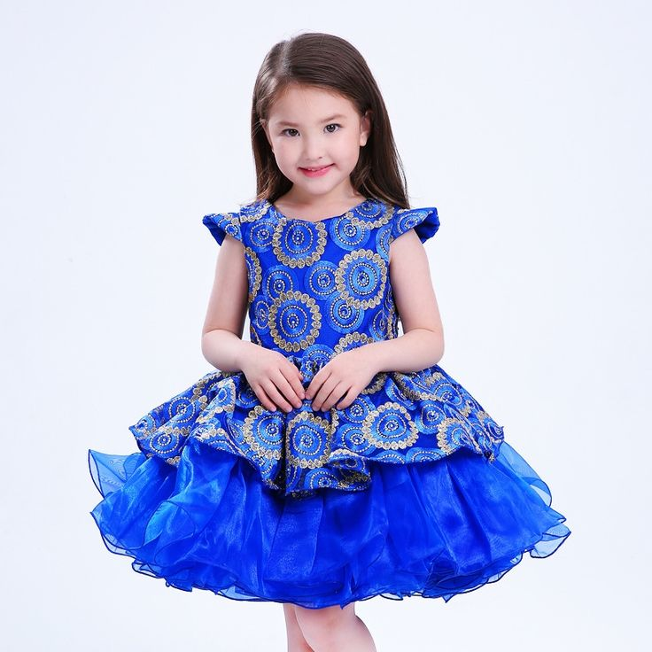 19.52$  Buy here - http://alifx6.shopchina.info/1/go.php?t=32799105723 - 2017 spring&summer new girl dress children clothes for girls Bands Children's high-grade embroidered princess dress YWA-PT09  #aliexpress