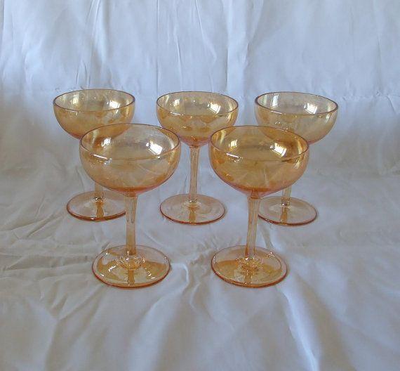 5 Vintage Retro  Iresident Gold Wine Liquor   by DutchTrader