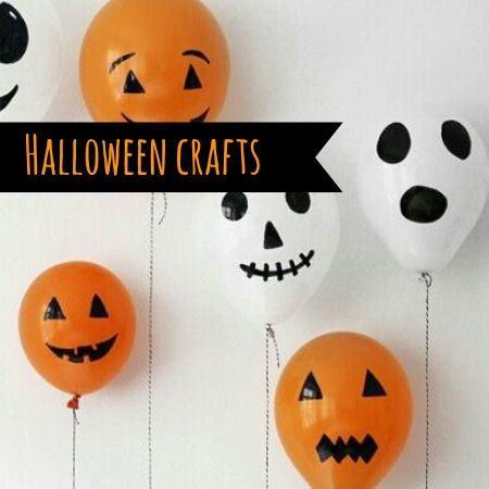 Quick and easy Halloween Crafts