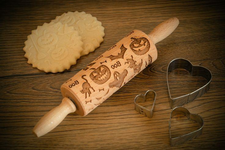 HALLOWEEN Rolling Pin – In My Wood