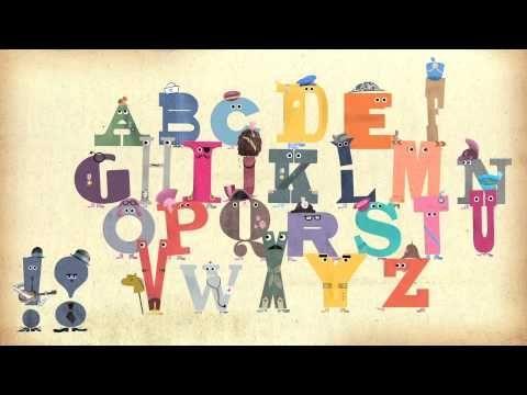 Kinder-app: Een zingend alfabet! Heel grappig en prachtig uitgewerkt!   ▶ Ministry of Letters Alphaphonic Orchestra - YouTube
