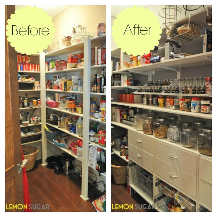 A Pantry Makeover With Lemon Sugar And Organized Living
