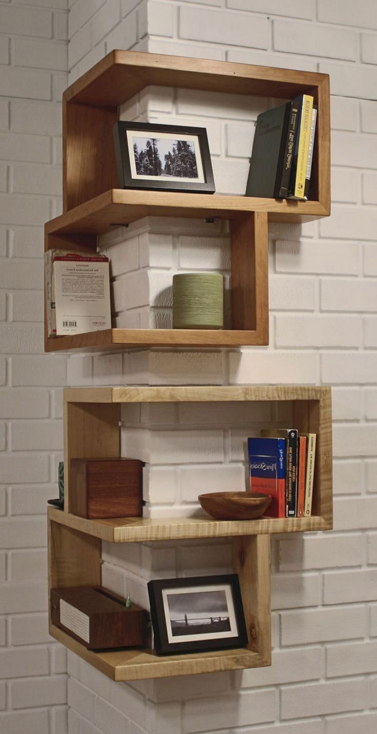 15 Awesome Corner Floating Shelves Ideas That Inspire You