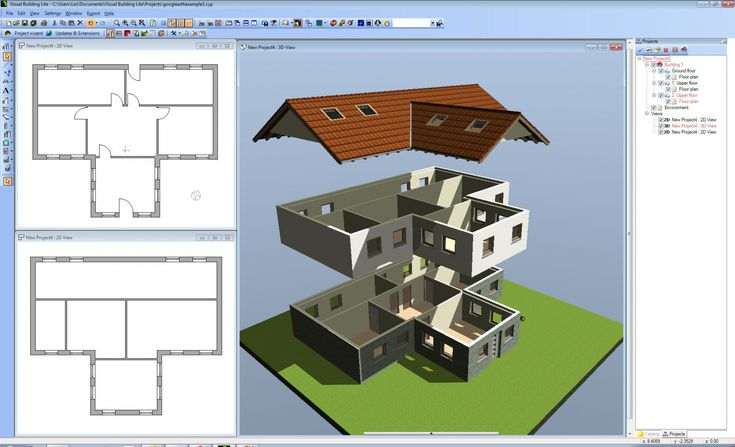 40 best 2d and 3d floor plan design images on pinterest for Easy to use floor plan software free