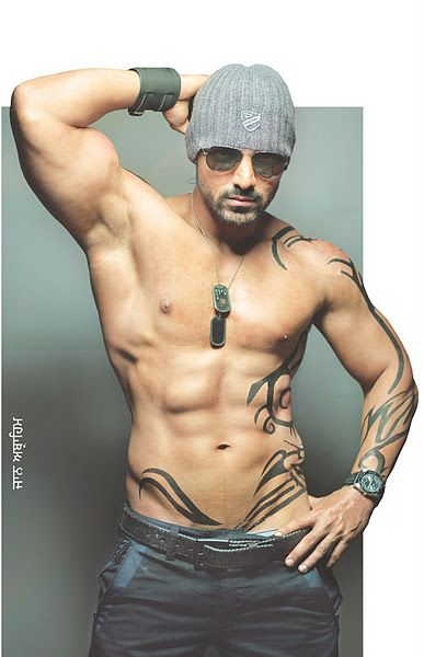 John Abraham  #Hot #Force #Style #6Pack #Bollywood #India #Photoshoot #JohnAbraham