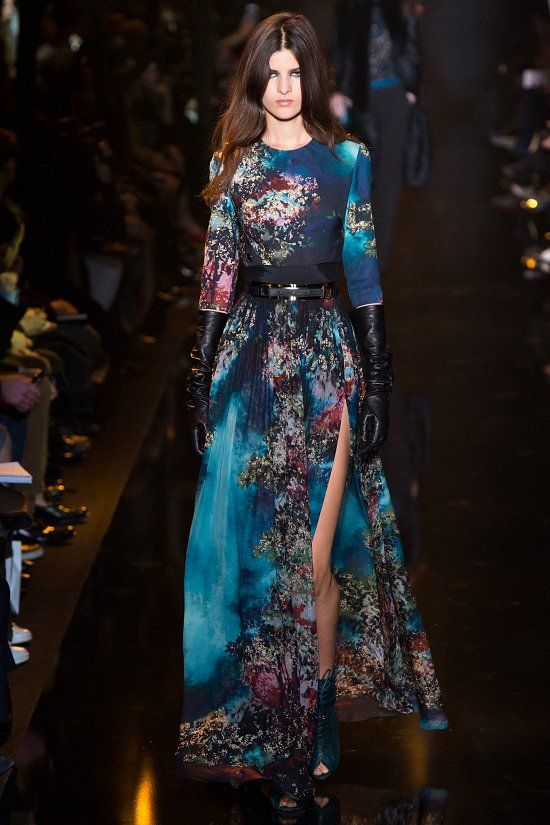 Elie Saab fall-winter 2015-2016 #PFW #fashion #fashionwomancom #look #dresses