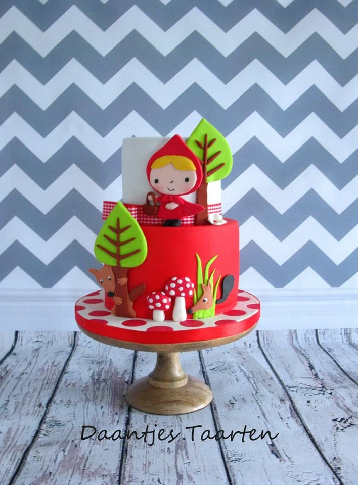 Little Red Riding Hood Cake | Daantjes Taarten