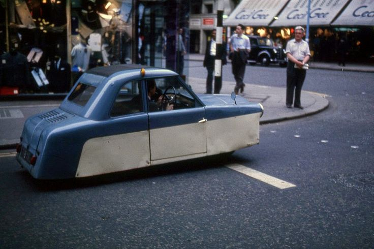 Funny Car in London, ca. 1963