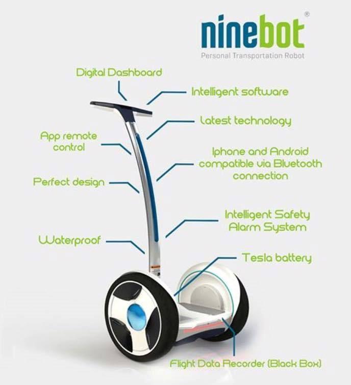 #Ninebot Elite лесно се вклопува во багажникот на автомобилот и може да оди со вас на работа, на училиште, во парк, па дури и шопинг. Постојат многу начини на кои можете да го персонализирате вашето #NinebotE возило за личен превоз.
