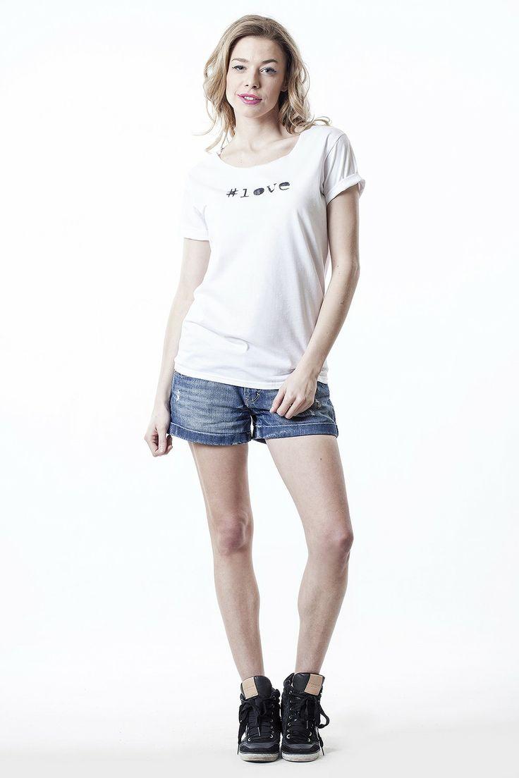 gshirt love - CONCRETE blonde #flowear #fashion ✻ www.flowear.org