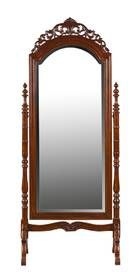 Chevel Mirror On Carved Stand | Wetherlys