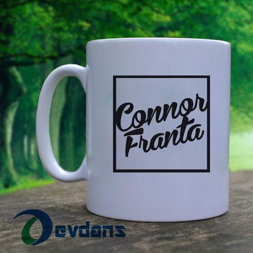 connor franta logo Mug, Ceramic Mug,Coffee Mug