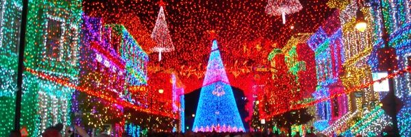 Las luces danzantes navideñas de Disney's Hollywood Studios - Secretos De La Florida - Información en Español sobre Disney World, Universal ...